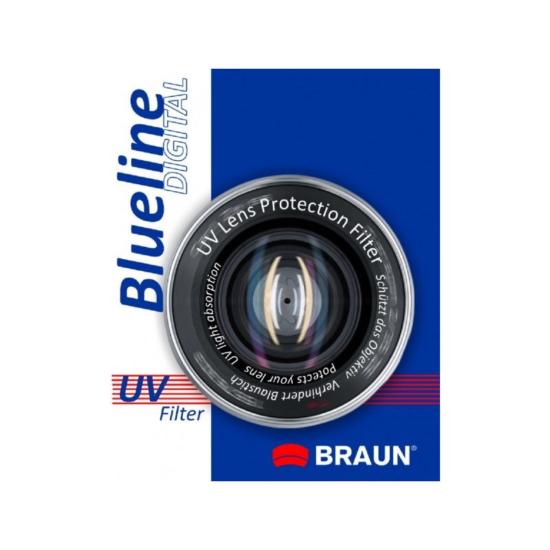 BRAUN Blueline UV-Filter 49 mm