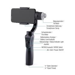 BRAUN Panolit Smartphone Gimbal 3 Achsen