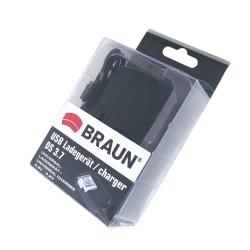 BRAUN USB-Ladegerät DS 3.7