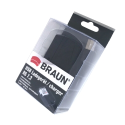 BRAUN USB-Ladegerät DS 7.2
