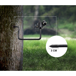 """BRAUN Tree mount for Scouting Cams 1/4"""""""