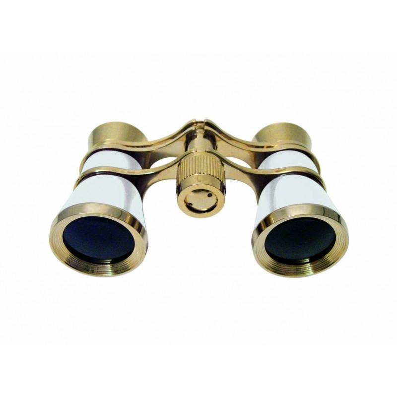 BRAUN Binocular 3 x 25 Opera Gold/Pearly
