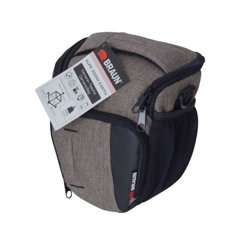 7b24f7f8dcf8c The BRAUN Alpe SuperZoom Bag is the ideal accessory for photographers who  value both functionality and classiness.