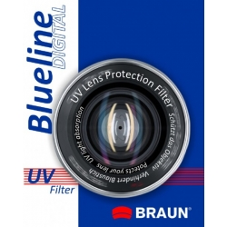 BRAUN Blueline UV-Filter 55 mm