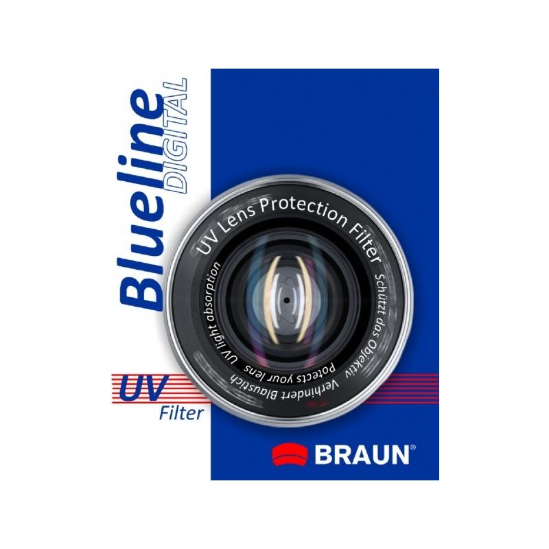 BRAUN Blueline UV-Filter 55 mm