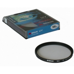BRAUN StarLine UV-Filter 62 mm