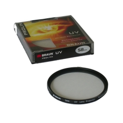 BRAUN ProLine UV Filter 62  mm