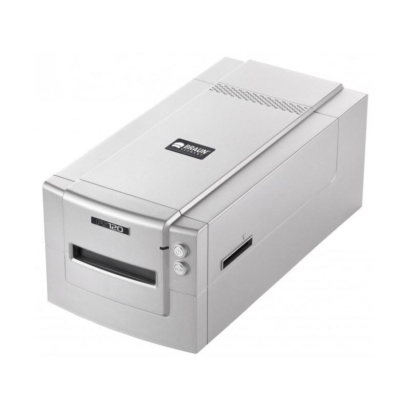 BRAUN Mediumformat Scanner FS120 + SilverFast Ai Studio 8 + IT8-Target