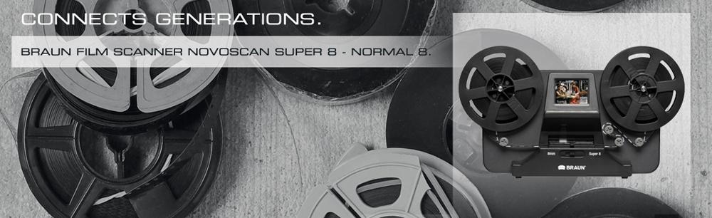 BRAUN NovoScan Super 8 Normal 8