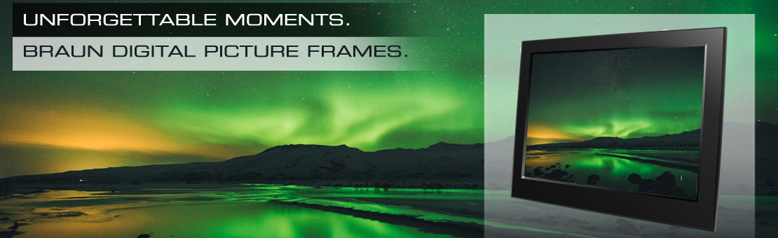 BRAUN Digital Picture Frames
