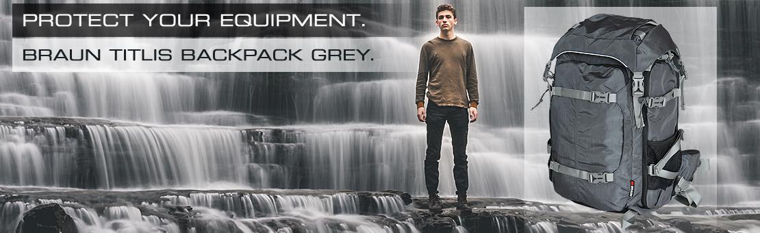 BRAN Titlis Backpack grey