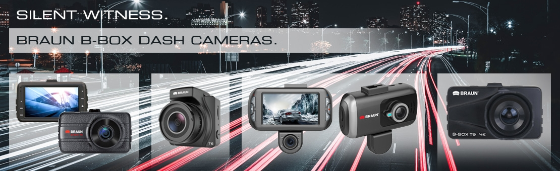 BRAUN Dash Cams
